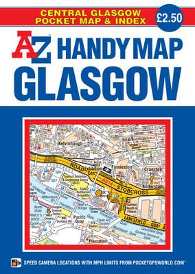 Handy Map of Glasgow (Sheet map, folded)