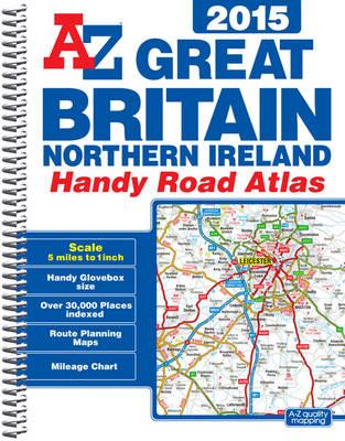 Great Britain Handy Road Atlas 2015 (Spiral bound)