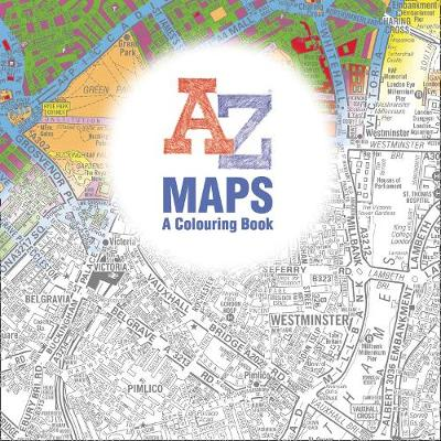 Maps - A Colouring Book (Paperback)