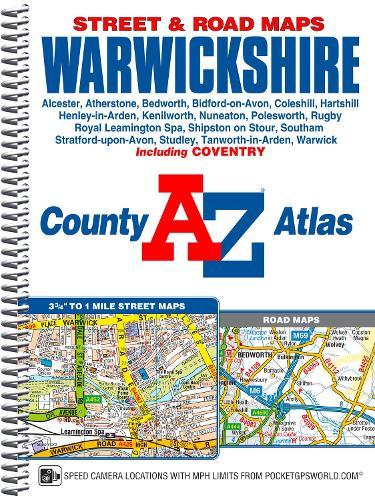 Warwickshire County Atlas (Spiral bound)