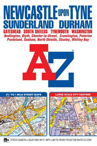 Newcastle Upon Tyne Street Atlas (Paperback)