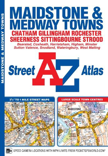 Maidstone & Medway Towns Street Atlas (Paperback)