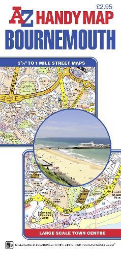 Handy Map of Bournemouth (Sheet map, folded)