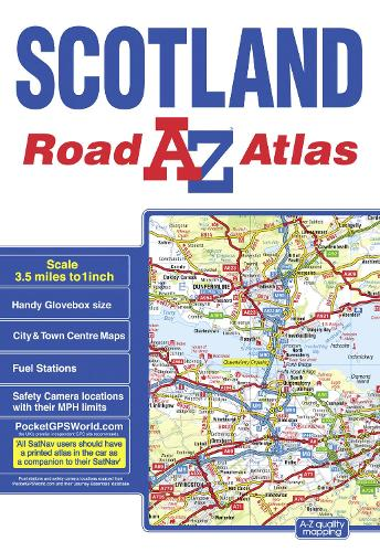 Scotland Road Atlas (Paperback)