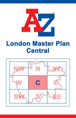London Master Map - Central (Sheet map, flat)