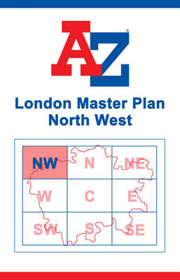 London Master Map - North West (Sheet map, flat)