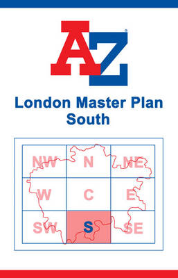 London Master Map - South (Sheet map, flat)