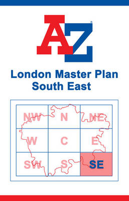 London Master Map - South East (Sheet map, flat)