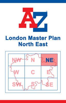 London Master Map - North East (Sheet map, flat)