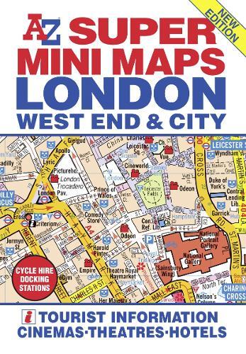 London Super Mini Maps (Sheet map, folded)
