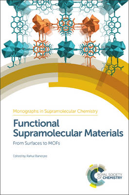Functional Supramolecular Materials: From Surfaces to MOFs (Hardback)