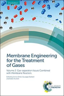 Membrane Engineering for the Treatment of Gases: Volume 2: Gas-separation Issues Combined with Membrane Reactors (Hardback)