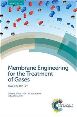 Membrane Engineering for the Treatment of Gases: Two-volume Set (Hardback)