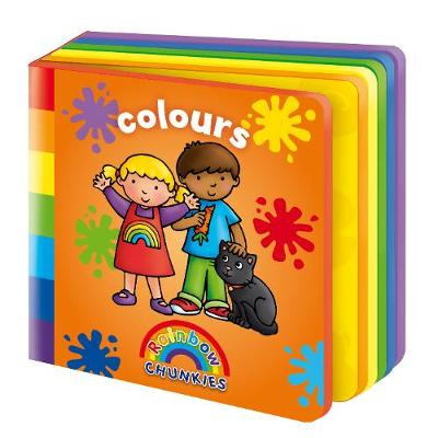 Colours - Rainbow Chunkies (Board book)