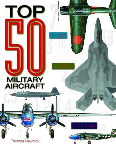 Top 50 Military Aircraft (Hardback)
