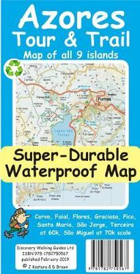 Azores Tour & Trail Super-Durable Map (Sheet map)