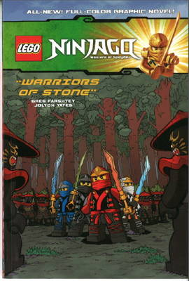 Lego Ninjago: Warriors of Stone Volume 6 (Paperback)