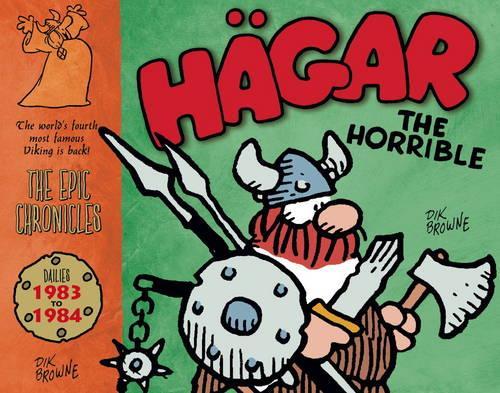 Hagar the Horrible: Dailies 1983-84 (Hardback)