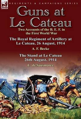 Guns at Le Cateau: Two Accounts of the B. E. F. in the First World War-The Royal Regiment of Artillery at Le Cateau, 26 August, 1914 by a (Hardback)