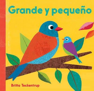 Grande y Pequeno (Board book)