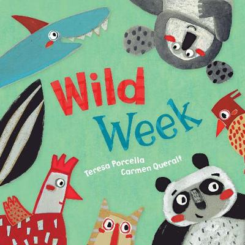 Wild Week (Board book)