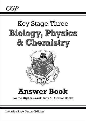 KS3 Science Answers for Study & Question Books (Biology/Chemistry/Physics) - Higher (Paperback)
