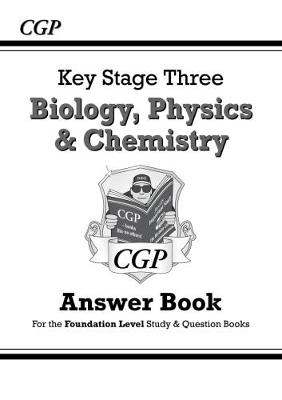 KS3 Science Answers for Study & Question Books (Biology/Chemistry/Physics) - Foundation (Paperback)