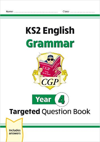 KS2 English Targeted Question Book: Grammar - Year 4 (Paperback)