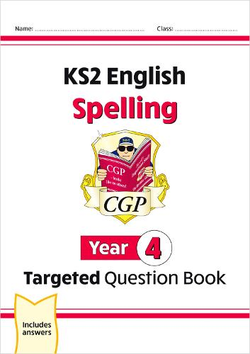 KS2 English Targeted Question Book: Spelling - Year 4 (Paperback)
