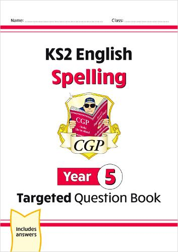 KS2 English Targeted Question Book: Spelling - Year 5 (Paperback)