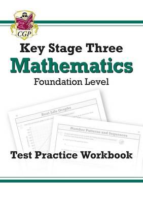 KS3 Maths Test Practice Workbook - Foundation (Paperback)
