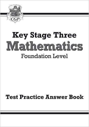 KS3 Maths Answers for Test Practice Workbook - Foundation (Paperback)