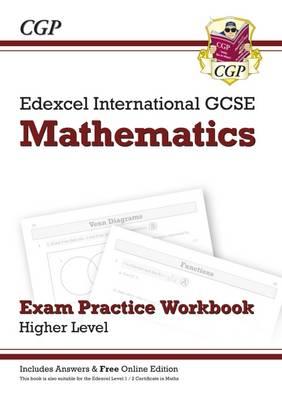 Edexcel Certificate/International GCSE Maths Exam Practice Workbook with Ans & Online Edition (A*-G) (Paperback)