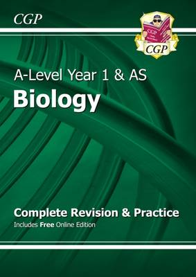 New A-Level Biology: Year 1 & AS Complete Revision & Practice with Online Edition (Paperback)