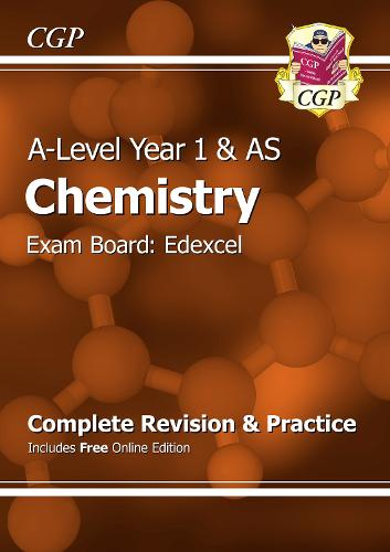 A-Level Chemistry: Edexcel Year 1 & AS Complete Revision & Practice with Online Edition (Paperback)