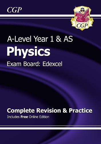 A-Level Physics: Edexcel Year 1 & AS Complete Revision & Practice with Online Edition (Paperback)