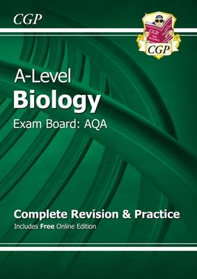 A-Level Biology: AQA Year 1 & 2 Complete Revision & Practice with Online Edition (Paperback)