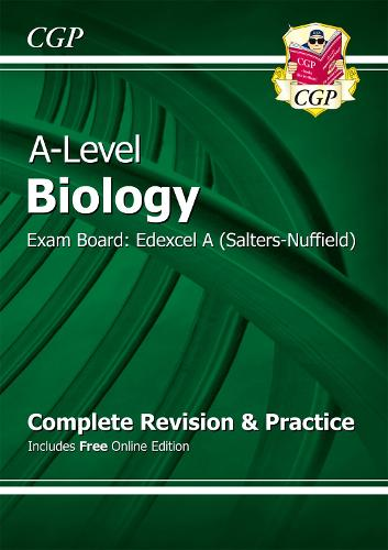 A-Level Biology: Edexcel A Year 1 & 2 Complete Revision & Practice with Online Edition (Paperback)