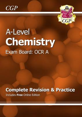 A-Level Chemistry: OCR A Year 1 & 2 Complete Revision & Practice with Online Edition (Paperback)