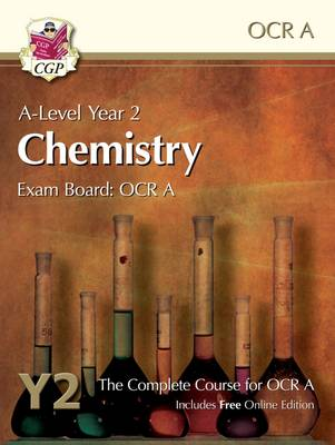 A-Level Chemistry for OCR A: Year 2 Student Book with Online Edition (Paperback)