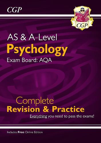 A-Level Psychology: AQA Year 1 & 2 Complete Revision & Practice (Paperback)