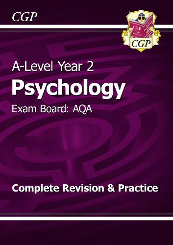 A-Level Psychology: AQA Year 2 Complete Revision & Practice (Paperback)
