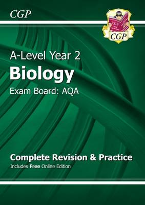 A-Level Biology: AQA Year 2 Complete Revision & Practice with Online Edition (Paperback)