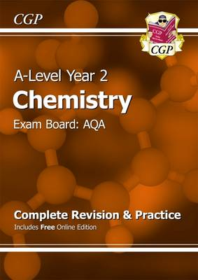 A-Level Chemistry: AQA Year 2 Complete Revision & Practice with Online Edition (Paperback)