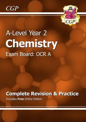 A-Level Chemistry: OCR A Year 2 Complete Revision & Practice with Online Edition (Paperback)