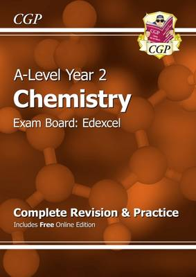 A-Level Chemistry: Edexcel Year 2 Complete Revision & Practice with Online Edition (Paperback)