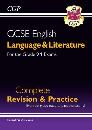 Grade 9-1 GCSE English Language and Literature Complete Revision & Practice (with Online Edn) (Paperback)