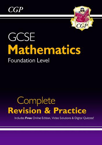 New 2021 GCSE Maths Complete Revision & Practice: Foundation inc Online Ed, Videos & Quizzes (Paperback)