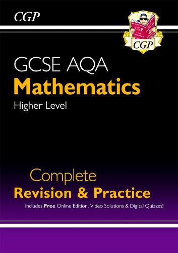 New 2021 GCSE Maths AQA Complete Revision & Practice: Higher inc Online Ed, Videos & Quizzes (Paperback)