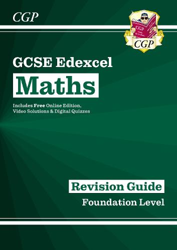 GCSE Maths Edexcel Revision Guide: Foundation - for the Grade 9-1 Course (with Online Edition) (Paperback)